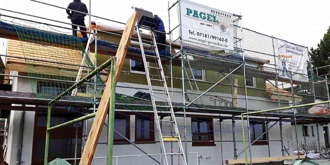 Projekt Einfamilienhaus Alfdorf