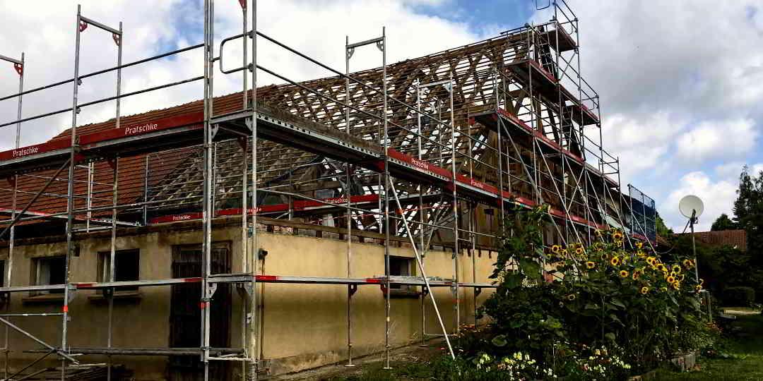 Bauberatung Franz - Projekt Scheunenausbau Unterschneidheim