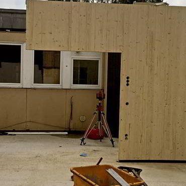 Bauberatung Franz - Bauleitung - Montage Der Vorgefertigten Holzbauteile
