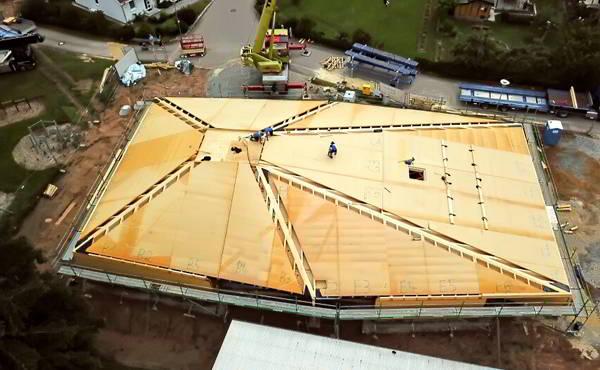 Bauberatung Franz - Bauleitung - Dachkonstruktion Des Kindergartens