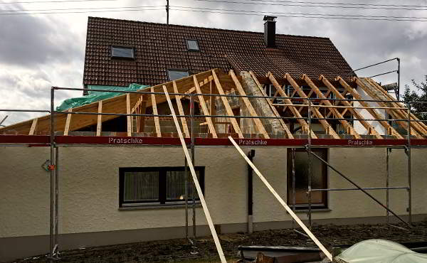 Bauberatung Franz - Bauleitung - Die Ersten Schritte Beim Anbau